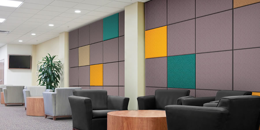 fabric acoustic panel 2 - Fabric Wall Panels