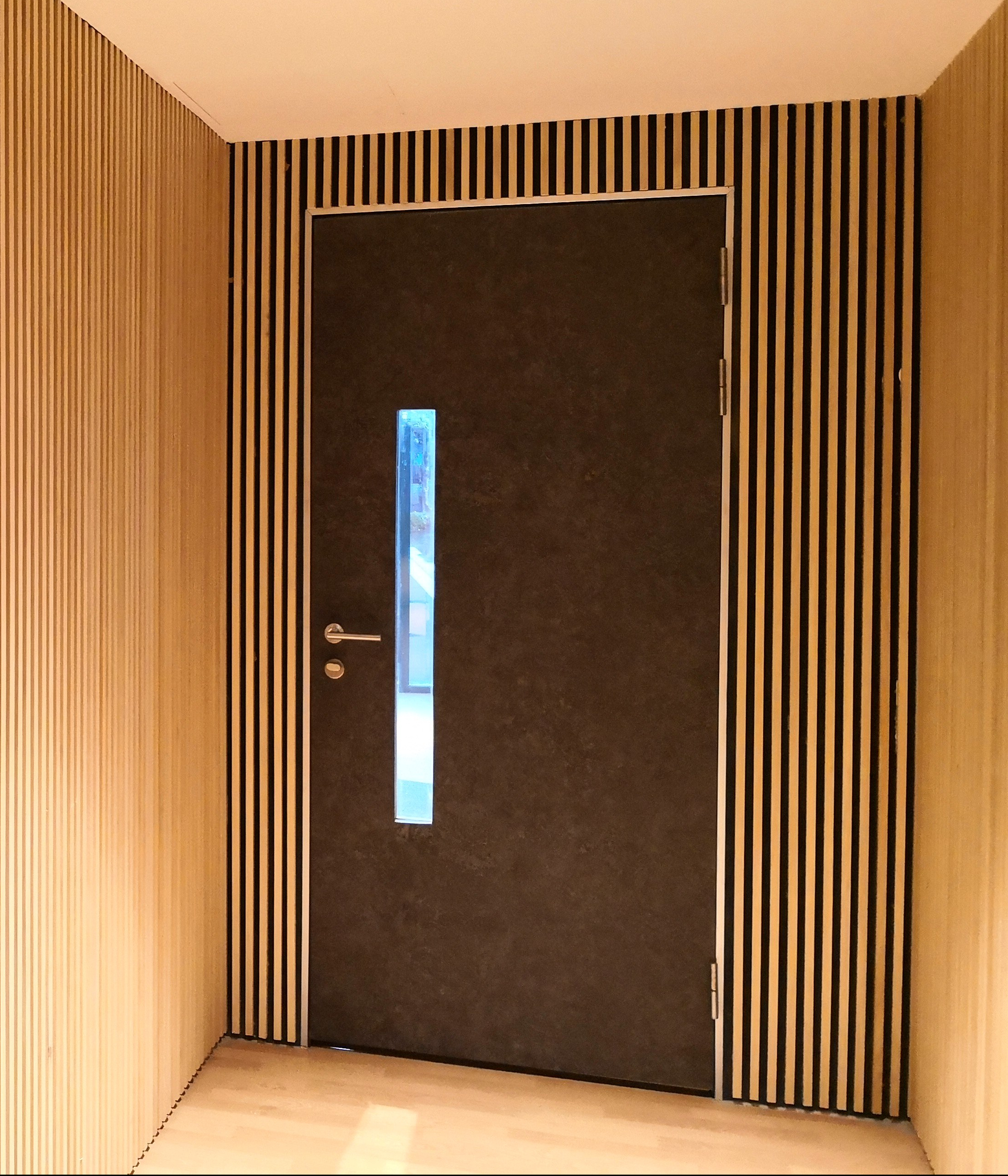 doors end interior patented perfectly flat oversize non materials high soundproof the large door performance gap panels pocket true honeycomb guaranteed warping sliding straight