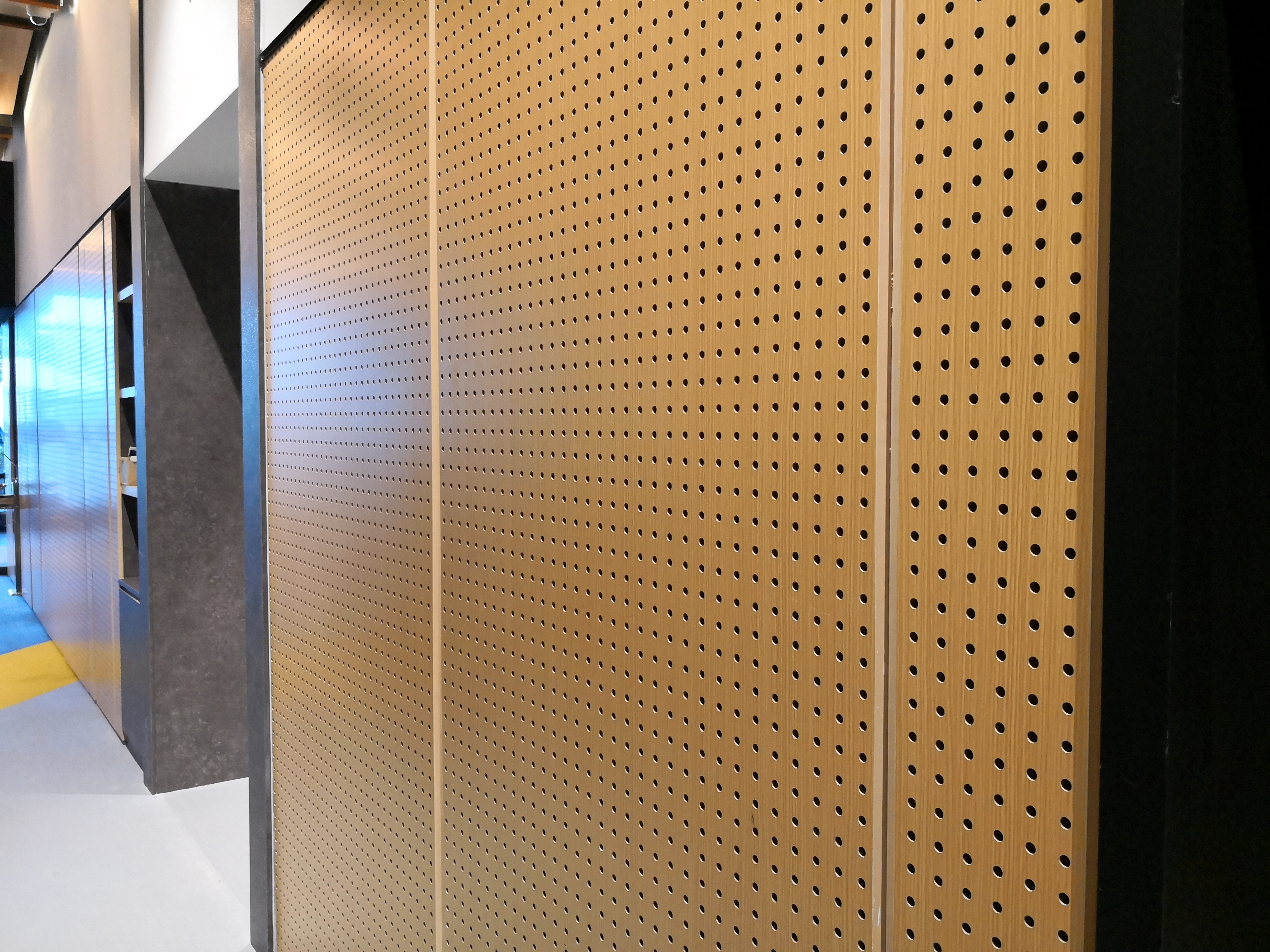 Perforated Plywood Ceiling Panels Www Gradschoolfairs Com